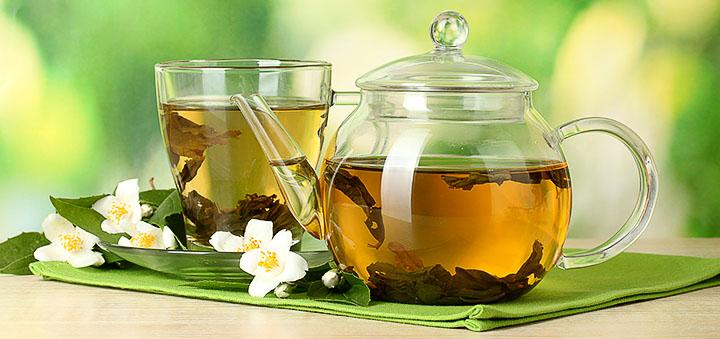 Зеленый чай до и после тренировки   Proka4aem.ru